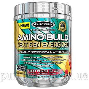 Амінокислоти з кофеїном MuscleTech Amino Build Next Gen Energized 30 порц.