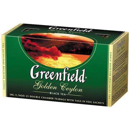 Чай черный Greenfield Golden Ceylon 25 пак.