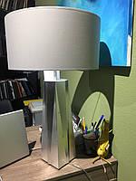 Лампа настольная с покрытием серебряной поталью
