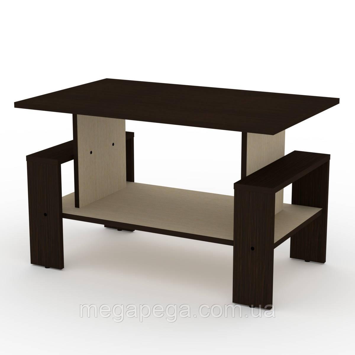 Журнальный стол Венера (столешница торцована кромкой АБС-2 мм)