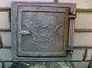 Дверка печная топочная чугунная 240*240 мм (вес - 5 кг)