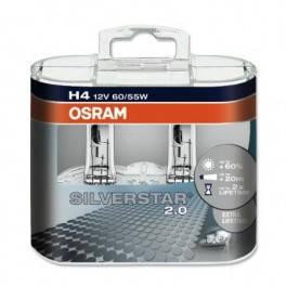 Лампы автомобильные Osram Silverstar 2.0 H4 +60%, фото 2