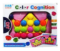 Детская мозаика для самых маленьких 669 крупные вкладыши, 9 картинок,в коробке 35*5*27см