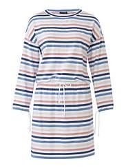 Схеми для крою №6310 А (Каталог Бурда №1 2019) Сукня трикотажна в спортивному стилі в форматі PDF
