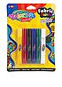 Краски для рисования по ткани  6 цветов насыщенные и яркие оттенки Colorino Kids