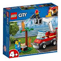 Конструктор LEGO City Пожар на пикнике (60212