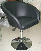 Кресло барное Мурат НЬЮ черное, фото 2