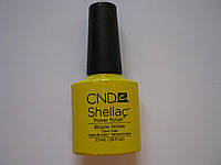 Гель-лак Shellac CND Bicycle Yellow