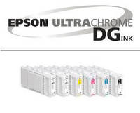 Чернила Epson UltraChrome DG для прямой печати на ткани
