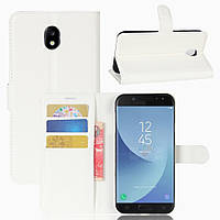 Чохол-книжка Litchie Wallet для Samsung J530 Galaxy J5 2017 Білий