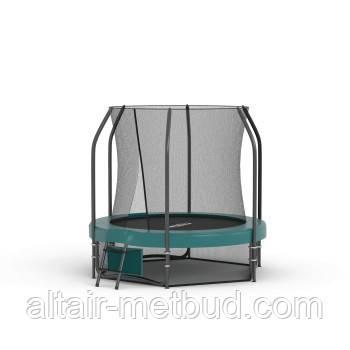 Батут  с защитной сеткой детский ПРЕМИУМ 183 см
