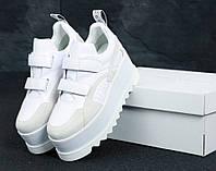 Кроссовки женские Stella McСartney в стиле Стелла Макартни Белые (Реплика ААА+)