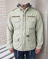 OBEY куртка утепленная милитари ОРИГИНАЛ (M) СОСТ.ИДЕАЛ