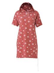 Схеми для крою №6310 В (Каталог Бурда №1 2019) Сукня трикотажна з капюшоном в форматі PDF