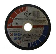 Круг отрезной ЗАК 125х1х22.23 мм