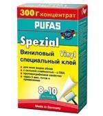Клей для обоев (обойный клей) Pufas Спец. Виниловый, 300 г