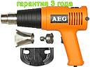 Строительный фен AEG PT 600 EC с регулировкой температуры, фото 2