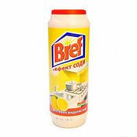 Чистящий порошок Bref Лимон+Эффект соды, 500 г