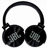 Наушники беспроводные JBL JB950BT Bluetooth (Copy) MP3 microSD Черные