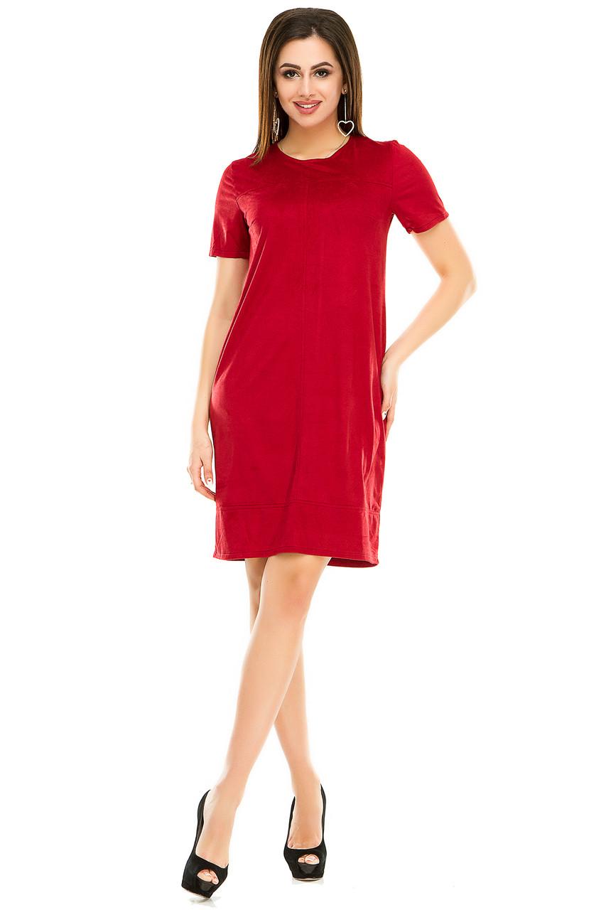 Платье 295 бордо