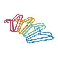 IKEA БАГИС Плечики детские, разные цвета 8 шт.