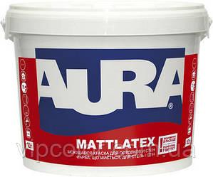 Aura Mattlatex 5 л матовая краска для внутренних работ арт.4820166520244 Белая