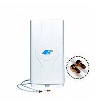 Антену 3G/4G LTE MIMO LF-ANT4G01 (TS9) 700-2600 мГц 8,8 dBi, фото 1