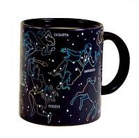 Чашка хамелеон Звездное небо, зодиак, фото 1