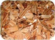 Переработанные древесные отходы
