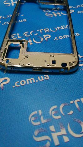 Средняя часть корпуса Samsung S6 китай  б.у, фото 2