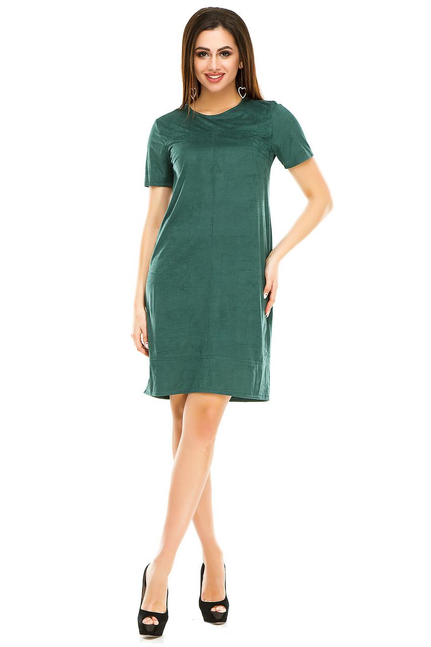 Платье 295 зеленое
