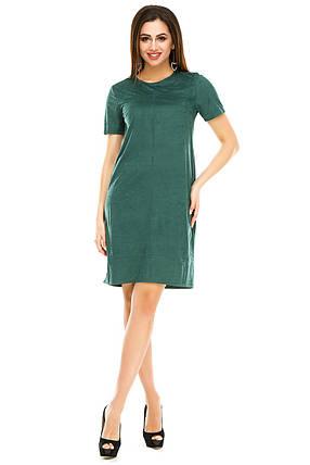 Платье 295 зеленое, фото 2