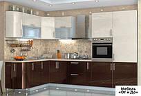Модульная кухня Хай Глосс / High Gloss Комплект 1.7х3.2