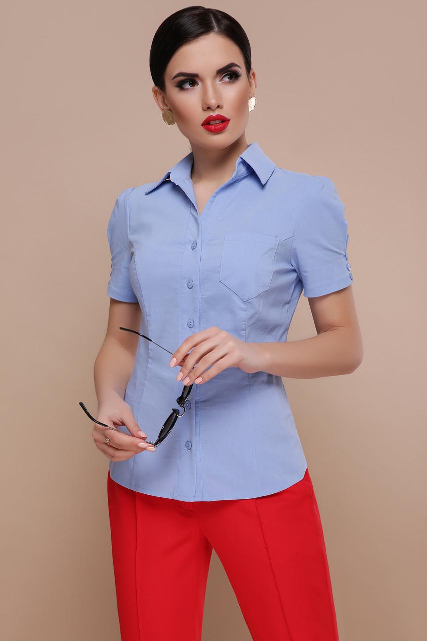 Женская блуза Эльза к/р
