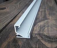 Светодиодный профиль угловой 17х17 усиленный, анод. Длина 3м, фото 1
