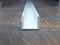 Лэд профиль светодиодный 16х12, анод. Длина планки 2мп, фото 1