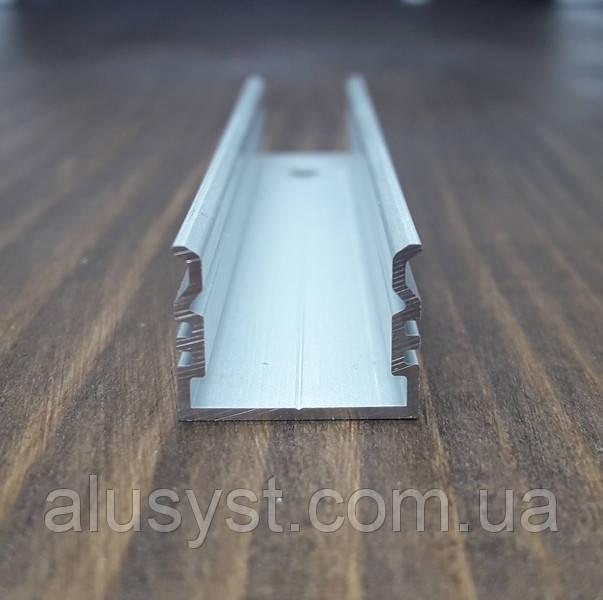 Алюминиевый профиль для монтажа и охлаждения светодиодной ленты. BLL-1011 анод. L-2метра