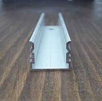Алюминиевый профиль для монтажа и охлаждения светодиодной ленты. BLL-1011 анод. L-2метра, фото 1