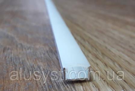 Светодиодный профиль 11х6 мм + рассеиватель матовый. К-кт  3м