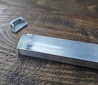Светодиодный профиль Z306 (ЛП7) б.п. Комплект 1мп (профиль+рассеиватель прозрачный+ заглушка), фото 1