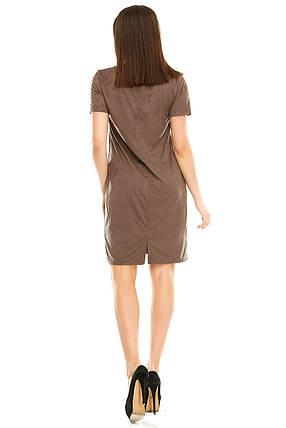 Платье 295  мокко, фото 2