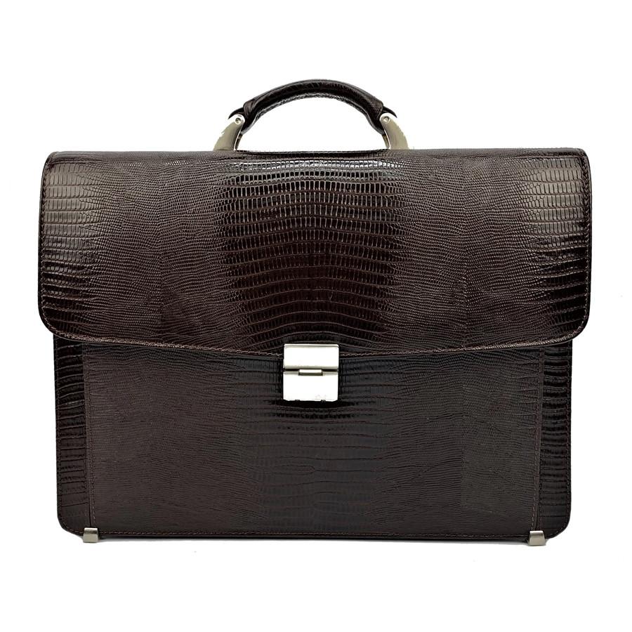 1496bfab780f Мужской портфель кожаный Desisan 206-142 коричневый с тиснением ...
