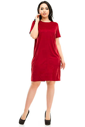 Платье 5295 бордо, фото 2