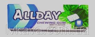 Жевательная резинка  Allday мята, 14 гр