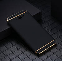 Чехол с золотыми вставками для Samsung Galaxy A3 A320 2017 (2 Цвета)