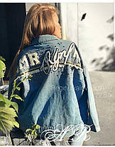 Стильная джинсовая куртка, жакет. Размер 44-46, 46-48, фото 3