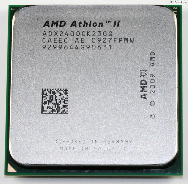 """Процессор AMD Athlon II X2 240  Б\У """"Over-Stock"""""""