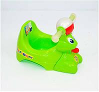 """Горшок детский салатовый """"Bugs Bunny"""" K-PLAST"""