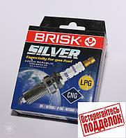 Свечи зажигания Brisk сильвер LR-15YS газовые