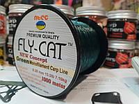 Оригинальная Леска Fly Cat 1000м Япония зеленая, фото 1